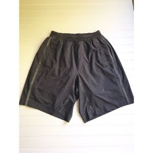 "Lululemon shorts 9"" with built-in spandex gray M"